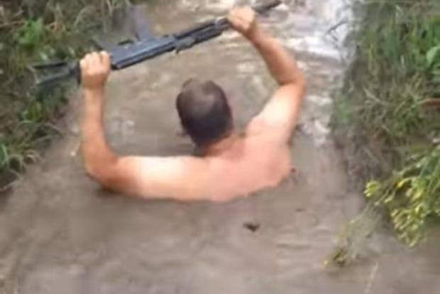 Окопы ВСУ на фронте тоже затопило после ливней