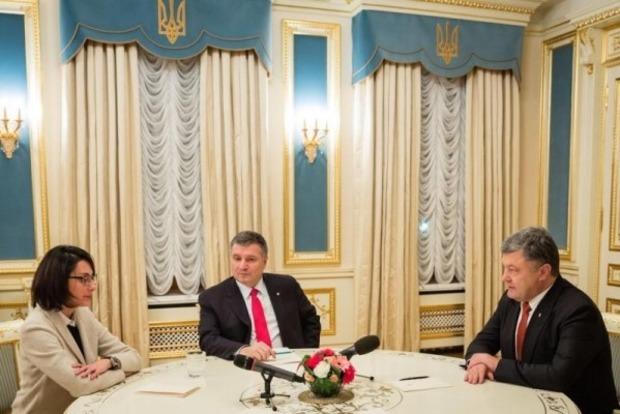 Порошенко рассказал о плюсах назначения Деканоидзе на пост главы Национальной полиции
