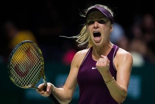 Украинка Свитолина в финале итогового турнира WTA