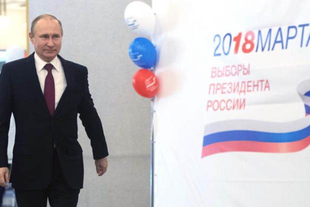 Екзит-пол. За Путіна проголосували понад 70% виборців