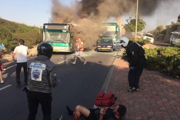 В Иерусалиме произошел взрыв в автобусе: 20 пострадавших, двое - в критическом состоянии