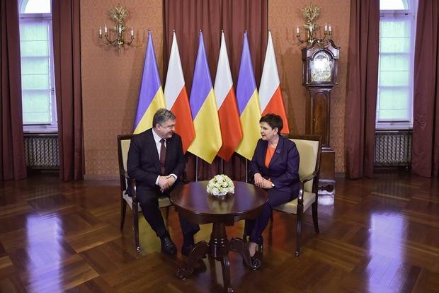 Порошенко и Шидло обсудили постройку газопровода-интерконнектора между Украиной и Польшей
