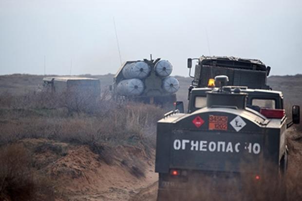 В России на военном полигоне загорелся двигатель ракеты