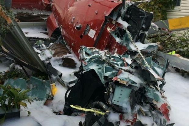 В Сочи вертолет упал на жилой дом, есть погибшие