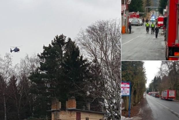 В Чехии 18 человек пострадали в результате серии взрывов на заводе