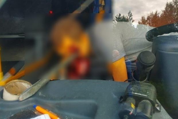 Пункт назначения отдыхает. Жуткая смерть водителя на дороге - убило ломом
