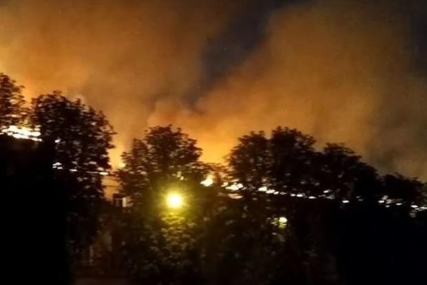 Спасатели потушили пожар в харьковском суде