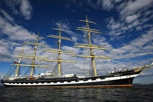 Финны не пустили в свой порт российский учебный корабль