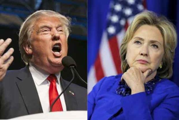 Выборы в США: Клинтон опережает Трампа на 4%