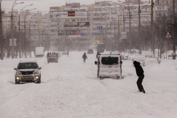 Снігопад в Києві: згадуємо 22 березня 2013 року