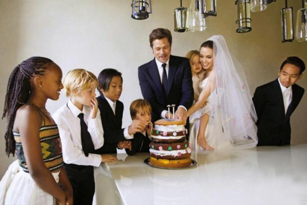 Бред Пітт відібрав чотирьох дітей у Анджеліни Джолі