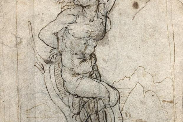 В Париже впервые за 15 лет обнаружили потерянный рисунок Леонардо да Винчи