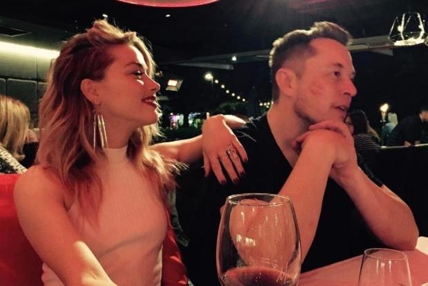 Основатель Tesla Илон Маск встречается с бывшей супругой Джонни Деппа