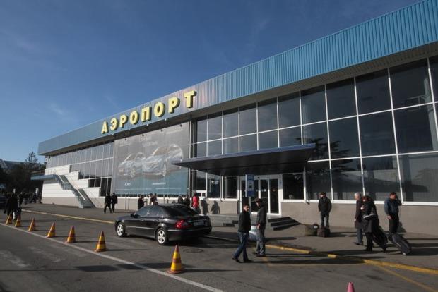 Аеропорт «Сімферополь» тимчасово не приймає літаки