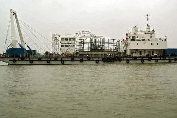 В прокуратуре открыли производство на судно из Китая, которое строило энергомост в Крым