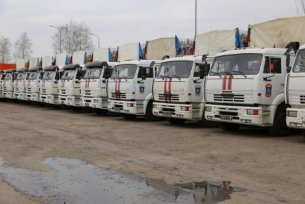 Утром на Донбасс отправится очередной российский «гумконвой»