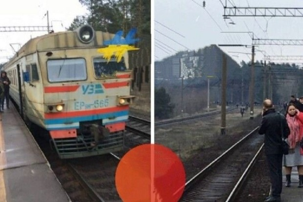 Укрзализныця остановила движение поездов, следующих мимо станции Дарниця - украли кабель