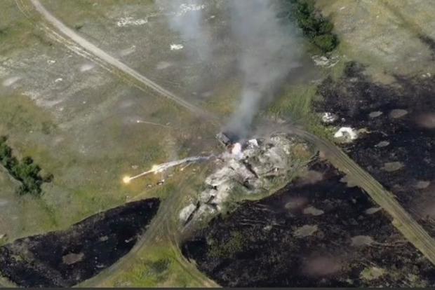З'явилося відео вражаючого знищення мінометного відділення бойовиків на Донбасі