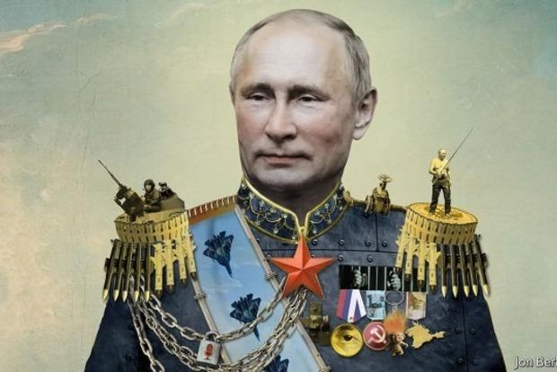 The Economist обнародовал обложку сПутиным вобразе царя