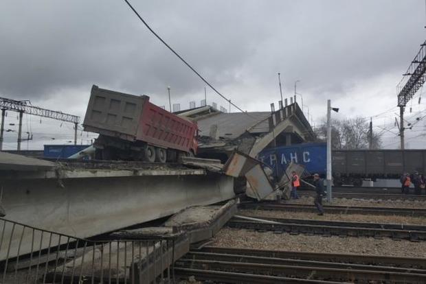 В России назвали причину обрушения огромного автомобильного моста