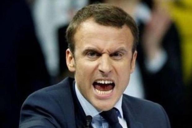 Макрон прокомментировал свою победу в первом туре выборов во Франции