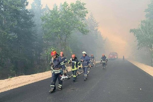Оперативна информация о пожаре на Луганщине Подтверждена гибель пятерых луганчан