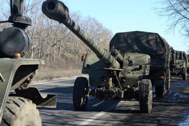 Сьогодні розпочнеться відведення озброєнь на донецькому напрямку