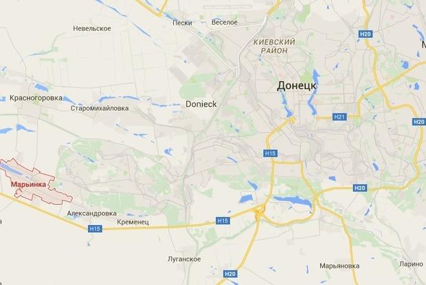 Боевики час обстреливали опорный пункт сил АТО, есть раненые