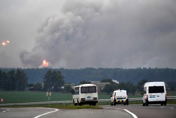 Движение воздушного транспорта в 5-км зоне вокруг арсенала МО в Калиновке восстановлено