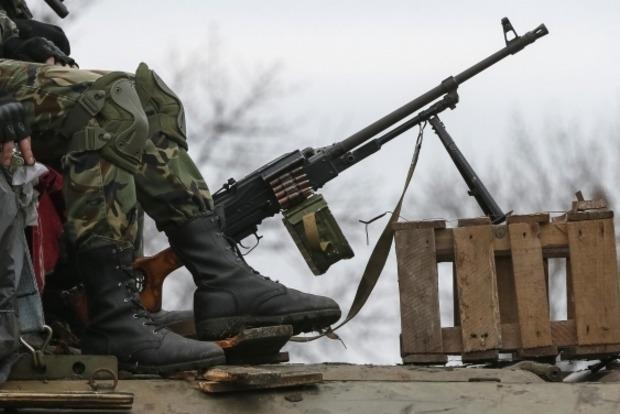 Боевики обстреляли контрольный пункт пограничников