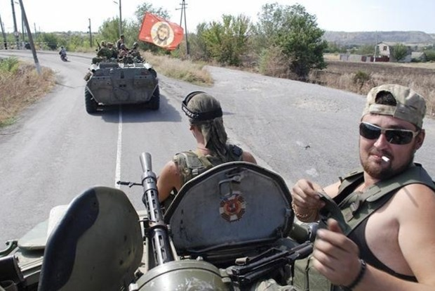 ВЛуганске нетрезвый боевик наавтомобиле врезался вмаршрутку,— агентура