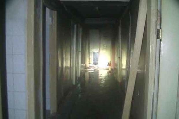В Харькове пылало студенческое общежитие, пострадали 6 человек