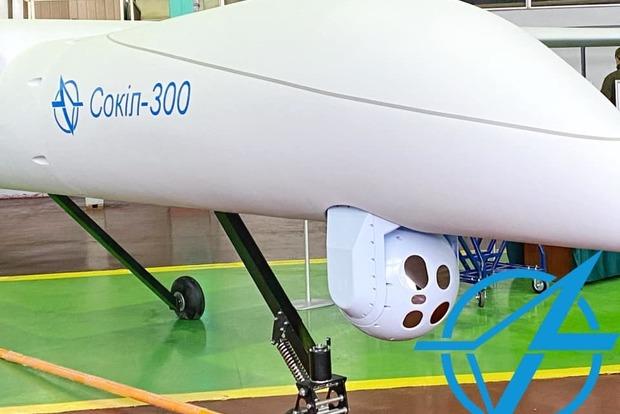 В Киеве презентовали ударный разведывательный беспилотник Сокол-300