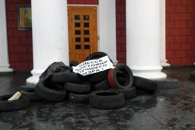 Полицией Одессы задержаны пять человек за нападение на участников митинга