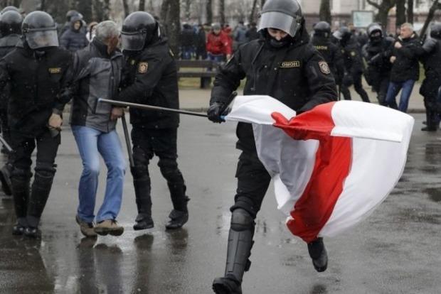 День Волі в Білорусі. Почалися затримання активістів