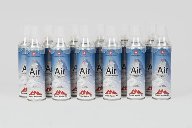 Швейцарская компания начала продавать воздух: $47 за 120 вдохов