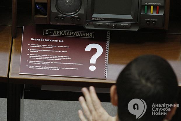 Президентские правки к э-декларированию подводят общественные организации под суд