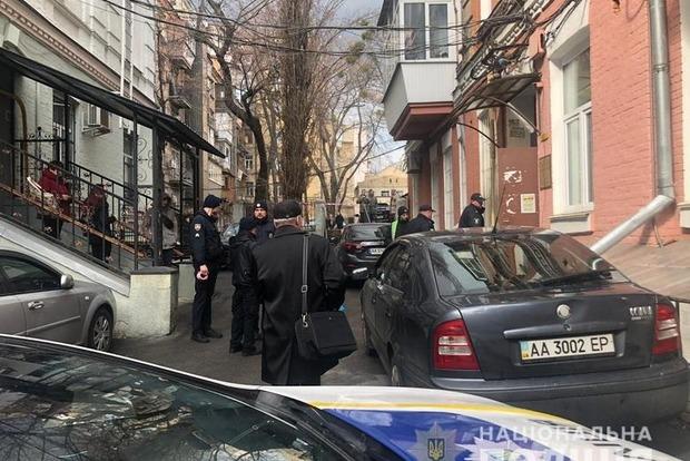 В Киеве в офисе одного из кандидатов в президенты искали взрывчатку