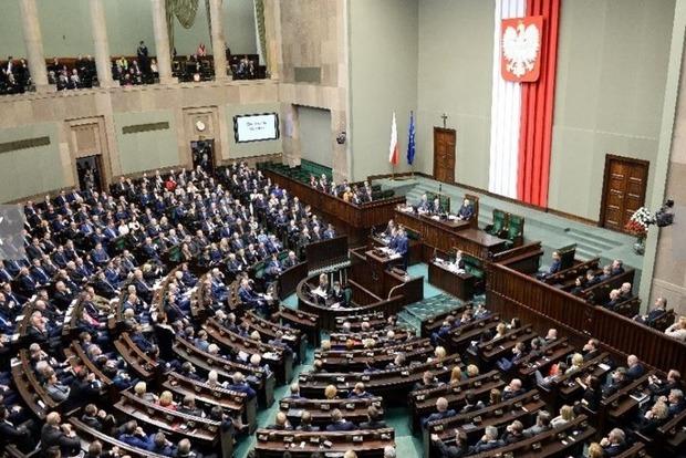 Глава МВД Польши признал голосование в Сейме законным