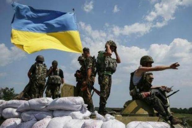 За сутки потерь среди украинских военных в зоне АТО нет