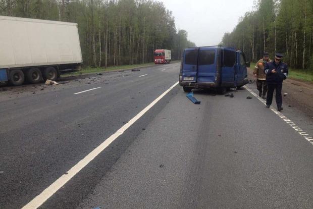 Шестеро украинцев погибли в жутком ДТП в РФ