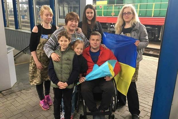 Украинский военный подарил билеты на финал «Евровидения» 10 инвалидам - участникам АТО