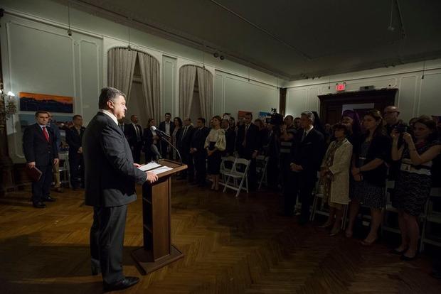 Порошенко предлагает начать «глобально» давить на Россию