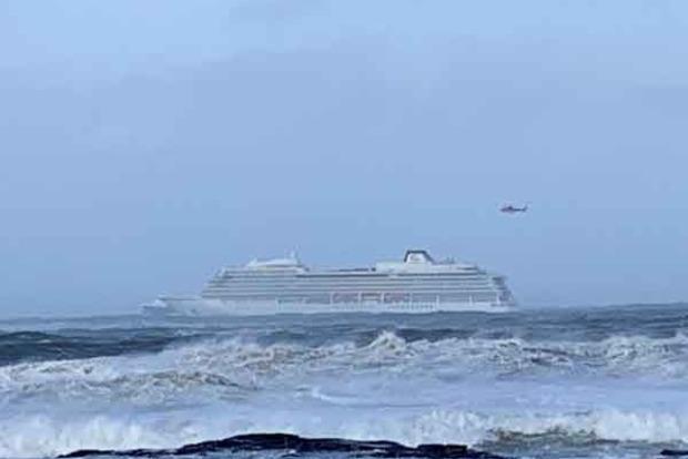 В Норвегии эвакуируют 1300 пассажиров с круизного лайнера с отказавшим двигателем