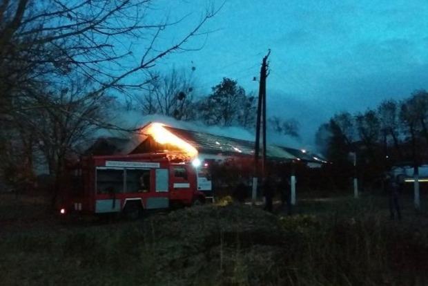В Киевской области сгорела амбулатория семейной медицины