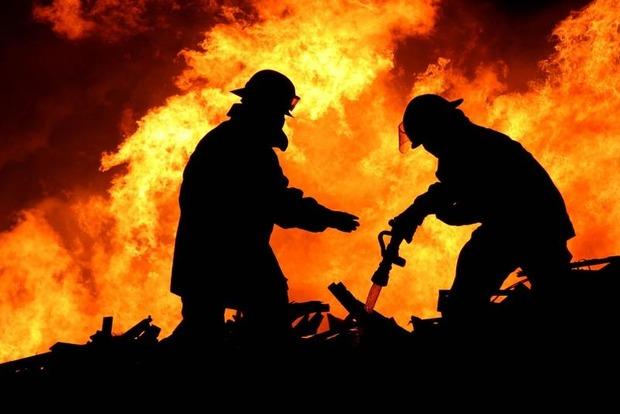 В Кирилловке горел дом на базе отдыха