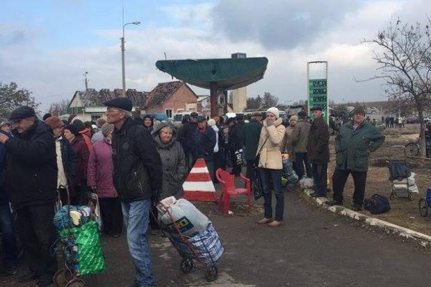В Станице Луганской открыли пешеходный пункт пропуска