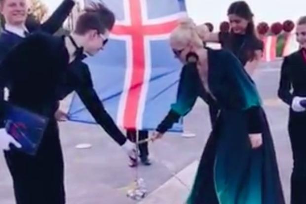 Участнице Евровидения из-за флага грозит тюрьма