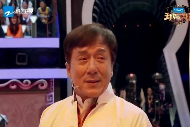 Джеки Чана довели до истерики во время одного из китайских телешоу