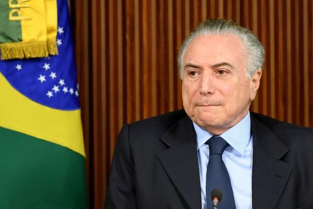 Бразильскому президенту и шести ведущим политикам страны предъявили обвинение в коррупции